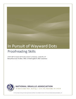 In Pursuit of Wayward Dots_Cover