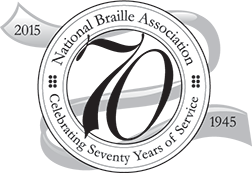 National Braille Association - Celebrating 70 years of service!
