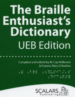 Braille Enthusiast's Dictionary - Cover