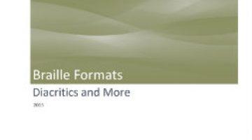 Diacritics and More, 2015