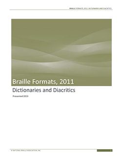 Cover Photo of Dictionaries and Diacritics