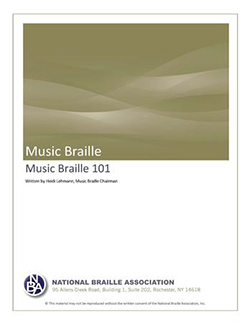 Cover Photo of Music Braille 101