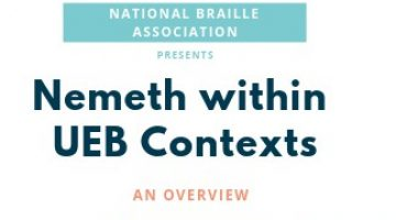Nemeth Within UEB Contexts - Featured Image