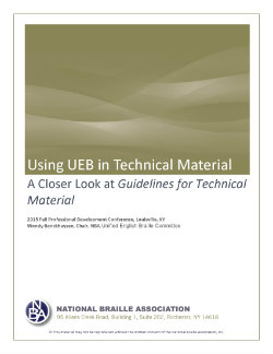 unified english braille guidelines for technical material october 2008