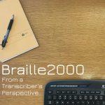Braille2000 Webinar